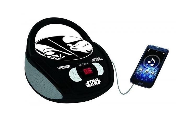 BOOMBOX RADIO CD PLAYER STAR WARS