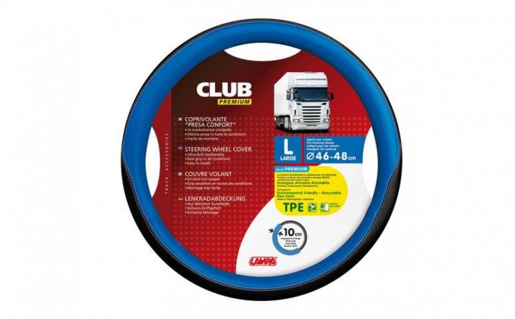 Husa Volan Club Premium 46-48 Albastru