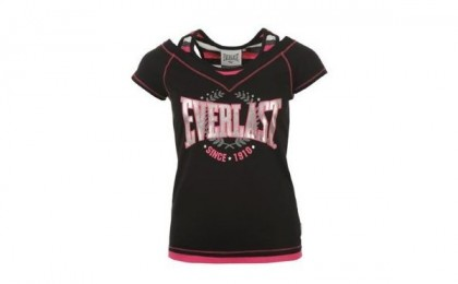 Investeste in haine de calitate, care nu se demodeaza:Tricou de dama EVERLAST original, la doar 87 RON in loc de 140 RON