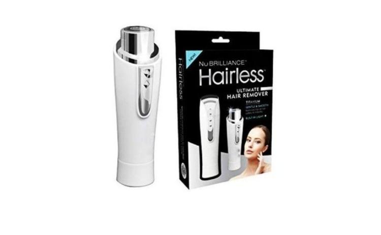 Epilator facial NuBrilliance Hairless