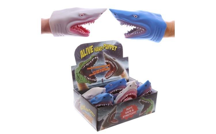 Marioneta gumata cap de rechin