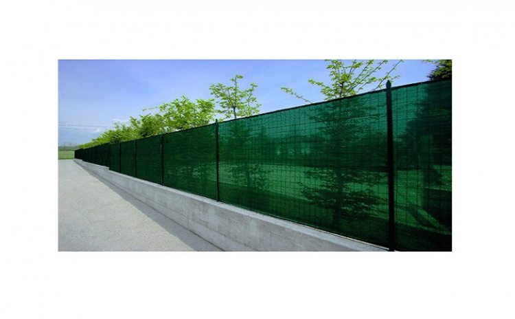 Plasa verde pentru gard, 2 x 9 m