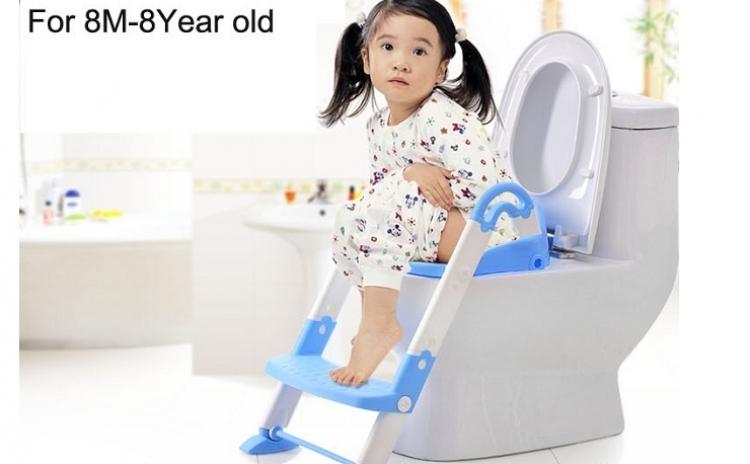 Olita multifunctionala 3 in 1 pentru copii, reductor cu scarita, materiale de calitate, non-toxice si antiderapante, la doar 149 RON in loc de 199 RON