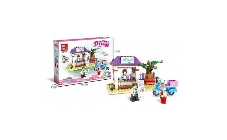 Joc constructie Dream Town 192 piese
