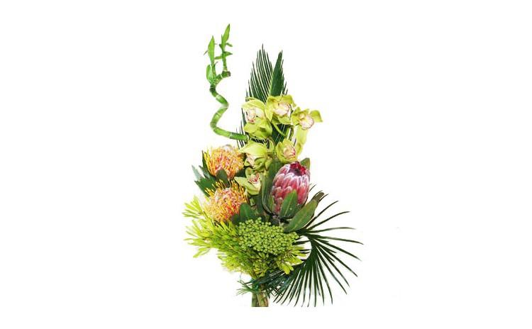Buchet din flori exotice - Flori business