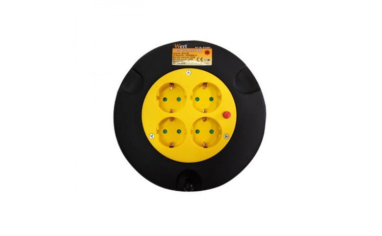 Prelungitor electric pe tambur 4 prize