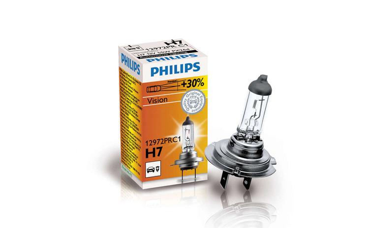 Bec halogen 12V - H7 - 55W Vision +30%
