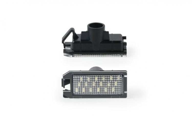 Lampi numar LED Jeep Compass