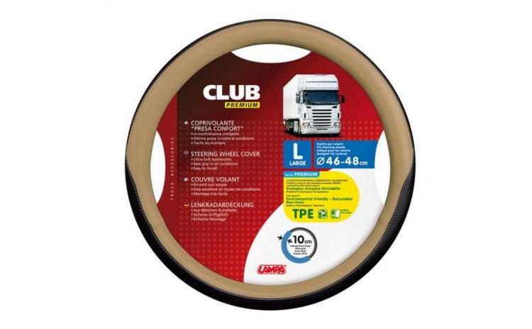 Husa Volan Club Premium 46-48 Crem