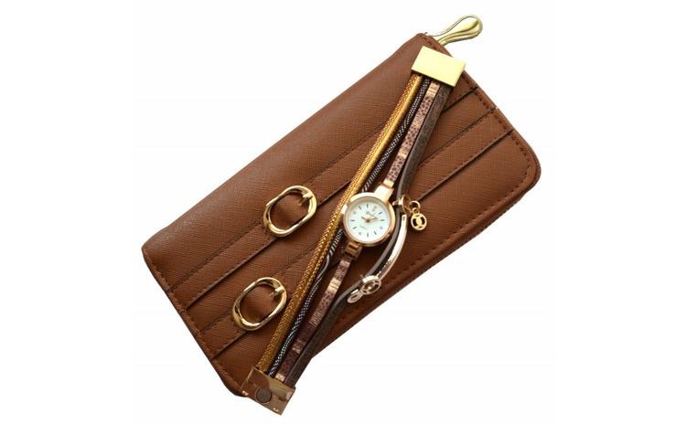 Pachet portofel elegant de dama cu