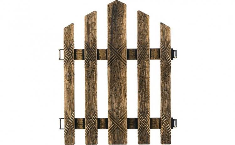 Set 4 bucati Gard decorativ pentru curte