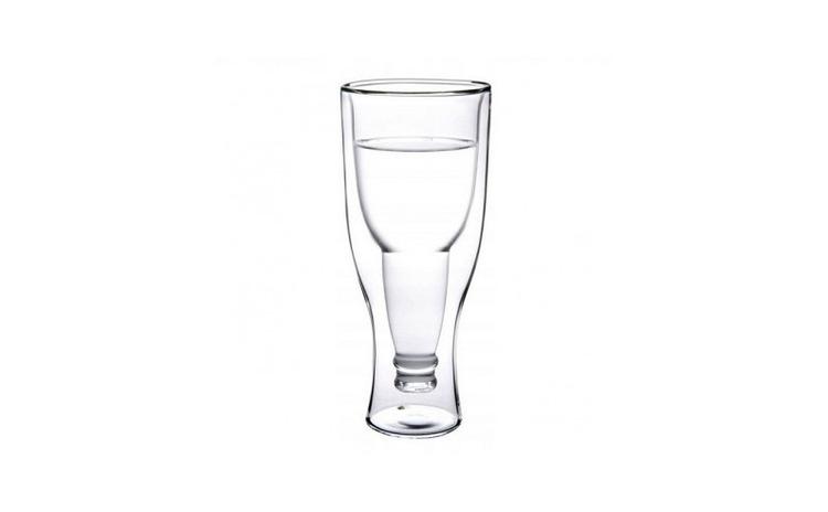 Pahar model sticla inversata, 500 ml,