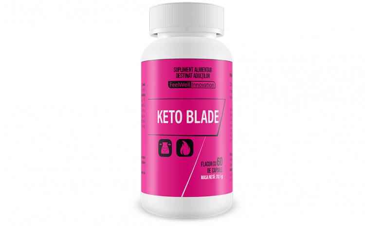 KetoBlade – capsule pentru slabit
