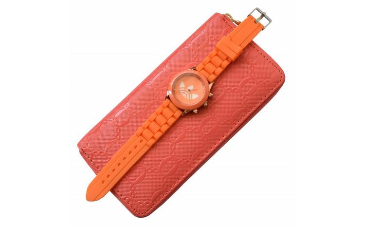 Pachet portofel elegant de dama - roz +