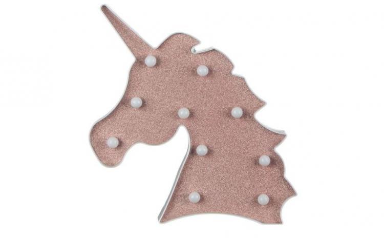 Unicorn  Pink Glitter 10 LED