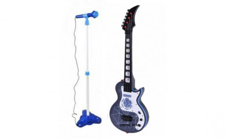 Chitara electrica si microfon