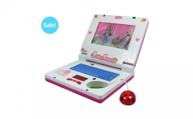 Laptop copii cu ecran si mouse