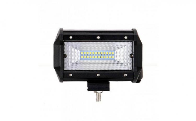 Proiector LED Bar, Off Road, patrat, 72W