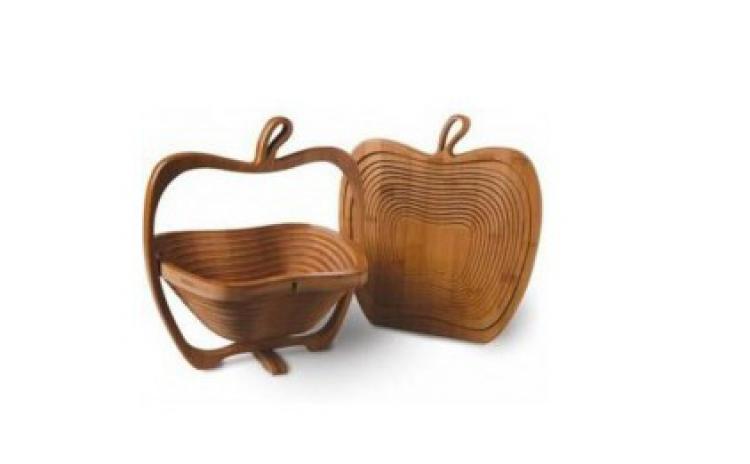 Imagine indisponibila pentru Ia-ti noul cos pentru fructe din bambus