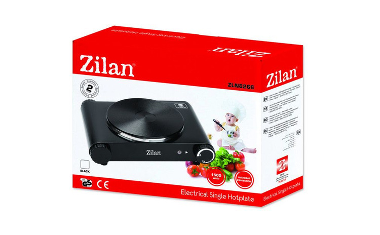Plita electrica ZILAN . Model Lux. 1
