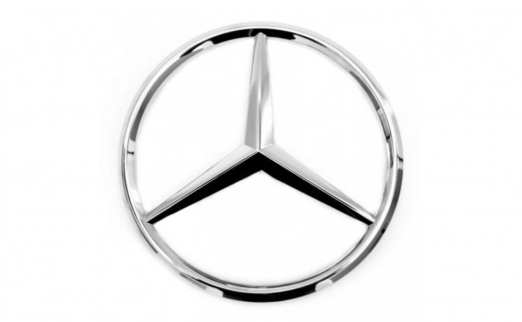 Set Emblema capota si portbagaj Mercedes