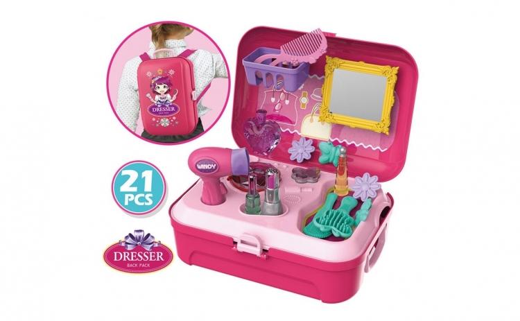 Set de jucarie coafeza - pentru fetite