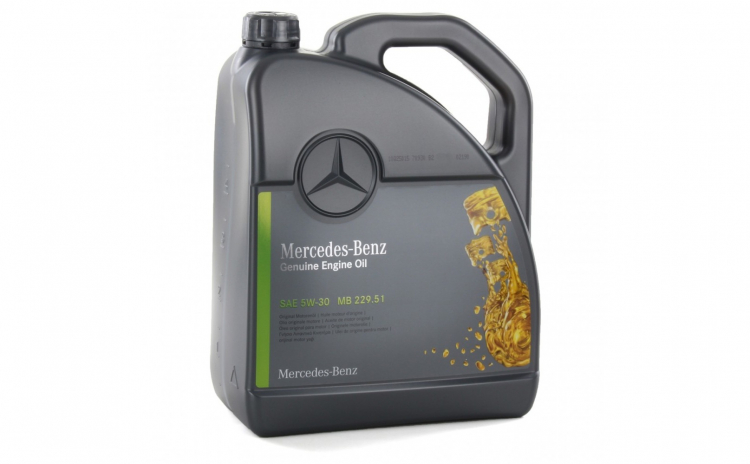 Ulei motor Mercedes
