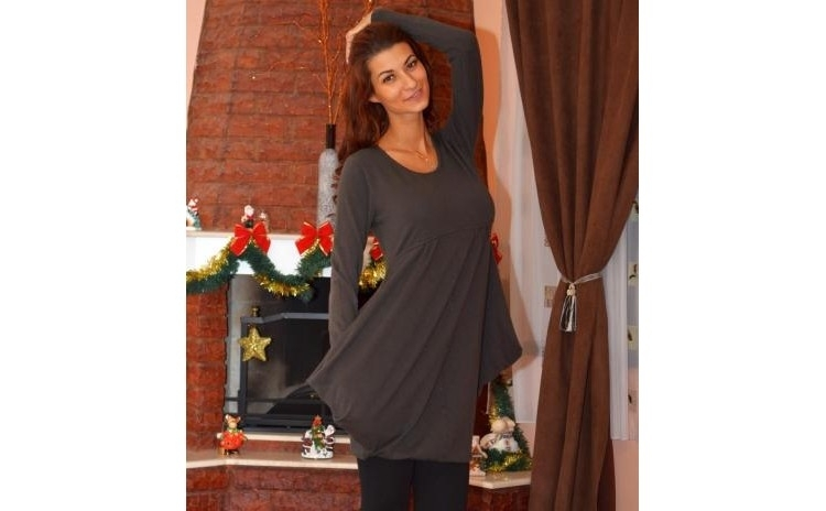 Bluza/Rochita Simple Brown la doar 129 RON in loc de 260 RON