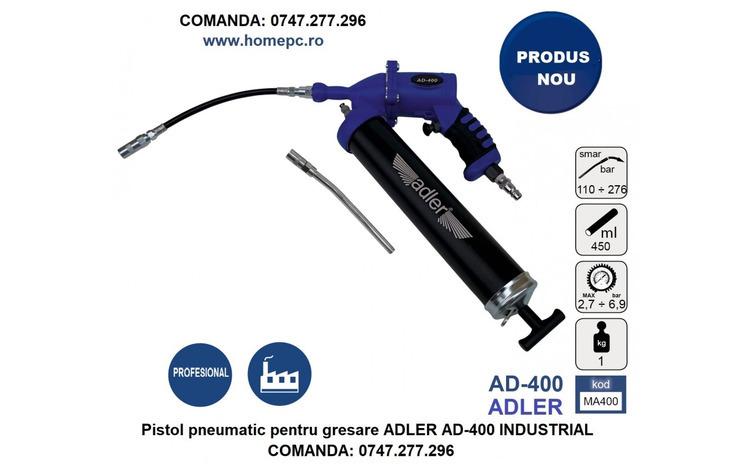 Pistol pneumatic pentru gresare ADLER