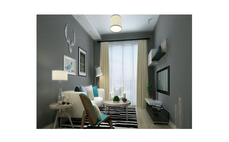Tapet Dark Gray design interior - 10 m X 0.53 m