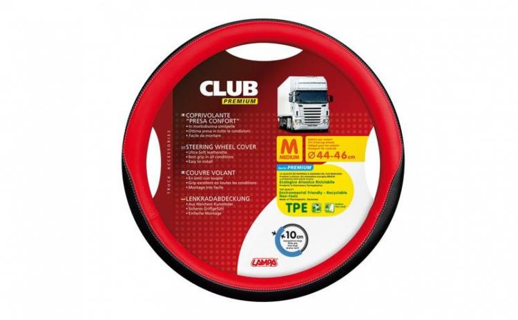 Huse Volan Club Premium 44-46 Rosu