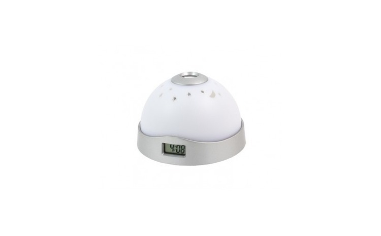 Ceas digital cu poriectie LED, 2 in 1,