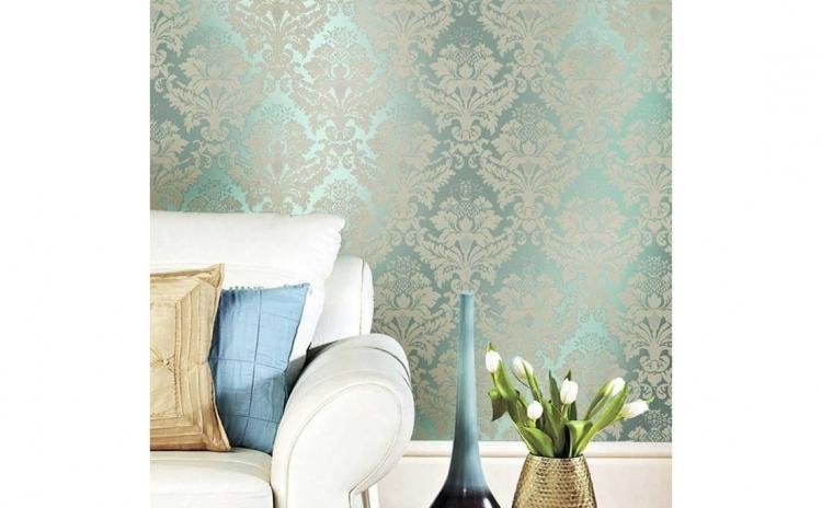 Tapet Blue Gold, design interior - 10 m X 0.53 m