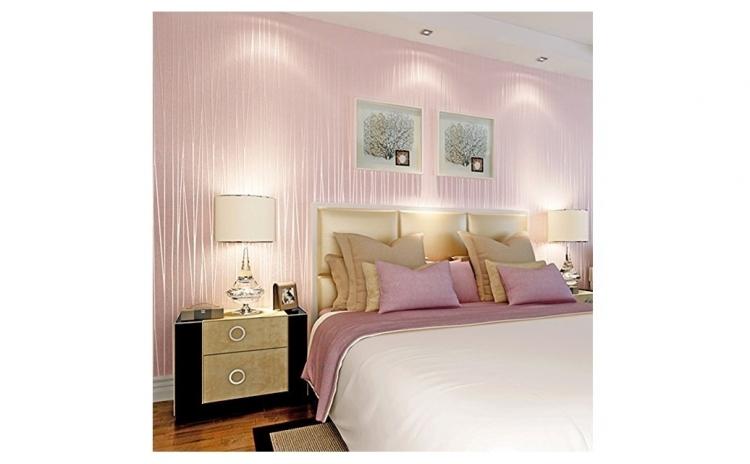 Tapet Light Pink, design interior - 10 m X 0.53 m
