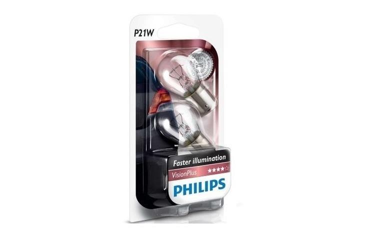 Set 2 becuri Philips P21W Vision