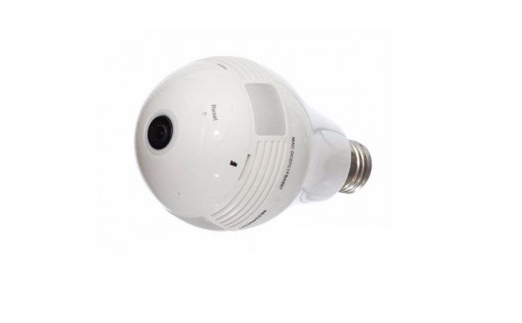 Imagine indisponibila pentru Camera supraveghere video si audio cu Wi-Fi - camuflata in bec