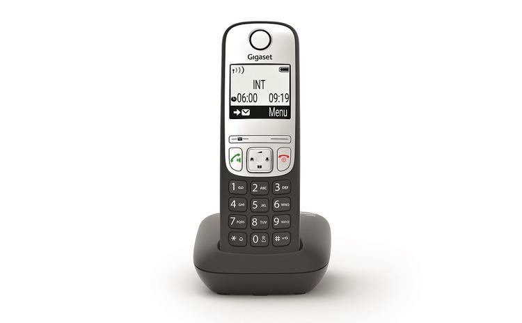 Telefon fara fir DECT Gigaset A690 negru