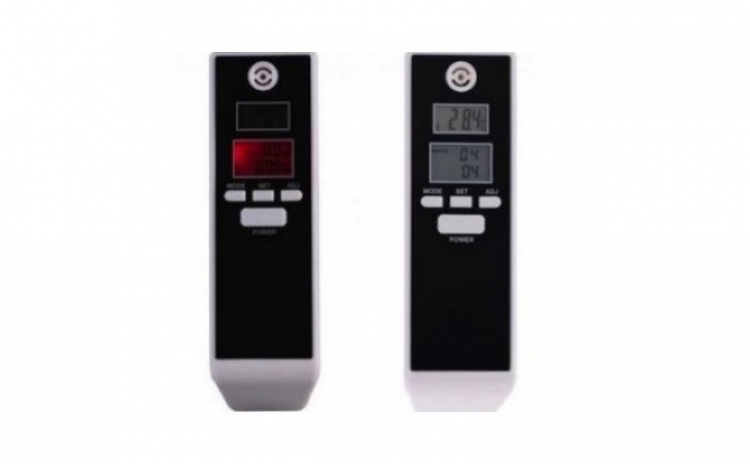 Alcooltest digital cu display dublu