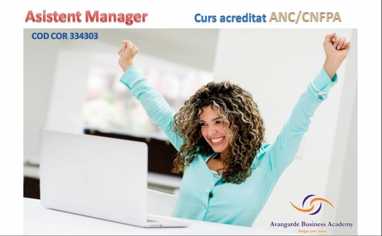 Curs Asistent Manager