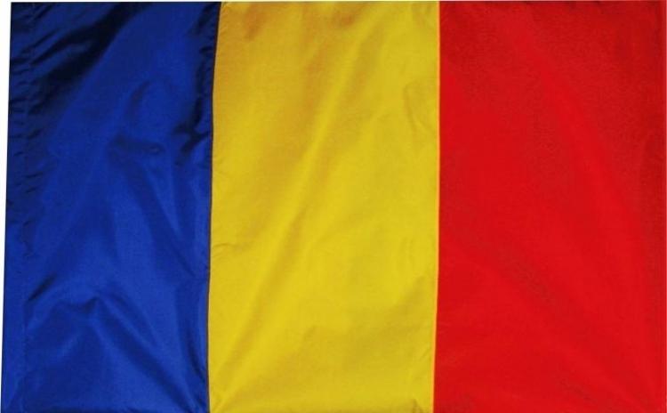 Steag mare tricolor Romania