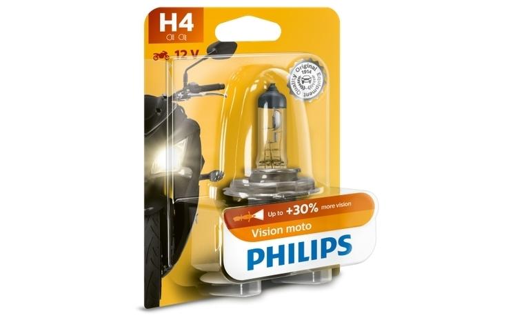 Bec far Motocicleta Philips H4