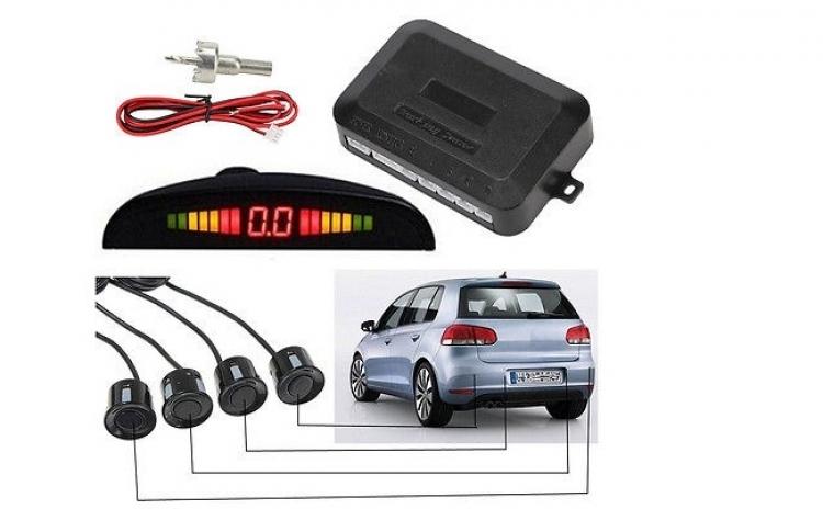 Senzori de parcare cu afisaj LED