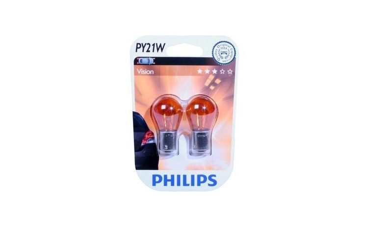 Bec semnalizare Philips Vision PY21W