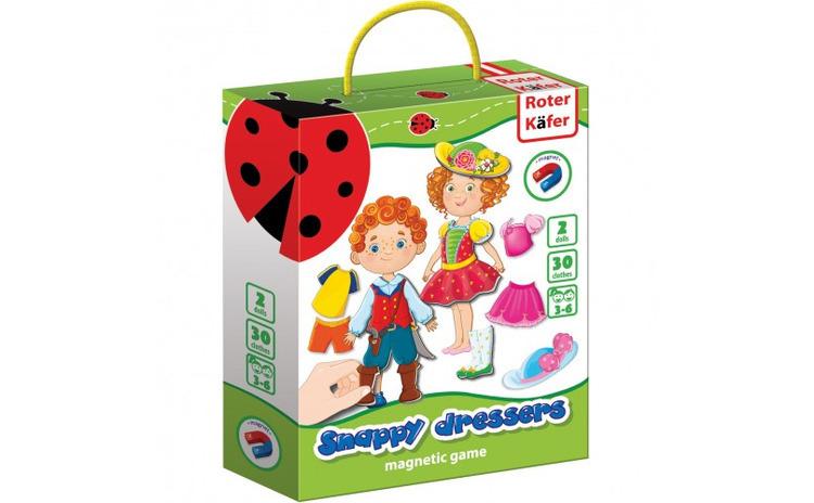 Joc educativ magnetic Snappy dressers