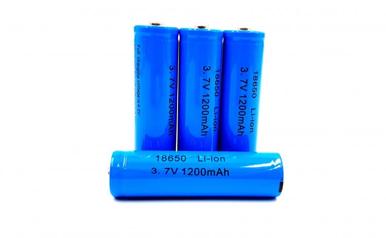 Acumulator 18650, 1200 mAh, 3.7V, Li-ion