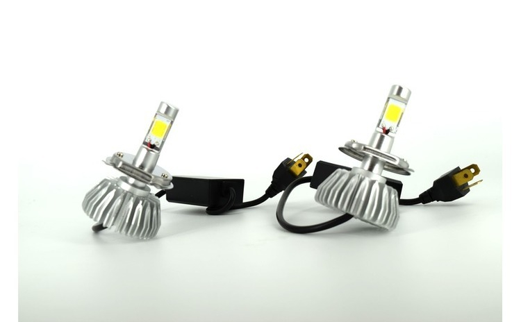 Set bec LED EVO X01 H4 9-16V 6000k