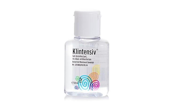 Gel dezinfectant maini Klintensiv 28 ml