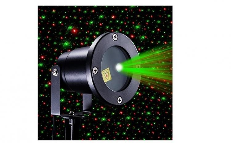 Proiector laser, metalic, la doar 219 RON in loc de 359 RON