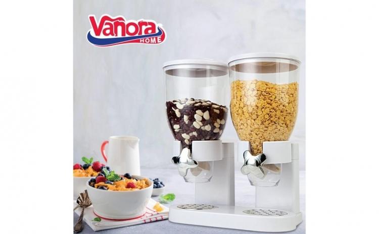 Dozator dublu pentru cereale