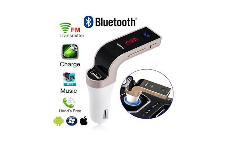 Modulator FM Bluetooth - MP3 Player